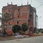Công trình nhà xây vượt tầng bị xử lý tại huyện Lý Sơn.
