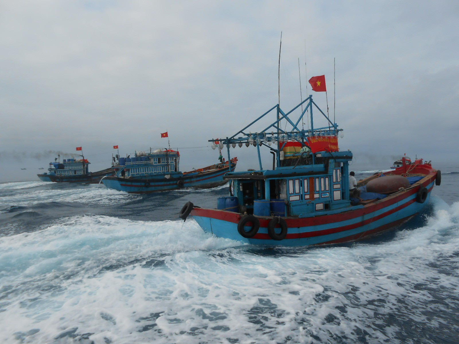 Sau những ngày nghỉ lễ, tàu cá của ngư dân Lý Sơn sẽ tiếp tục thẳng tiến ra Hoàng Sa, Trường Sa