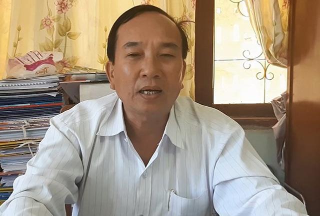Ông Nguyễn Thanh - Phó Bí thư kiêm Chủ tịch UBND huyện Lý Sơn.