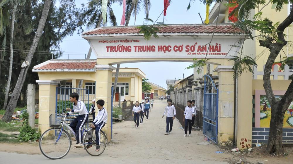 Diện mạo mới của trường THCS An Hải