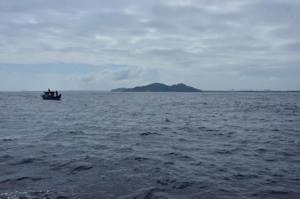 Khu vực biển mà Công ty CP thép Hòa Phát Dung Quất đang xin nhận chìm vật chất nạo vét sau nạo vét cảng
