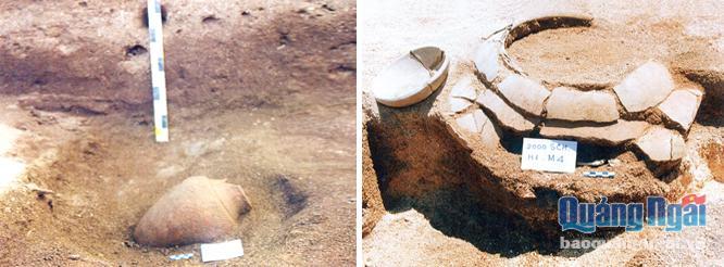 di tích khai quật ở suối chình
