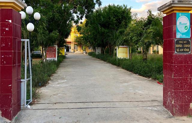 Xã An Vĩnh, huyện Lý Sơn, nơi phát hiện 4 cán bộ và lãnh đạo sử dụng bằng tốt nghiệp THPT giả.