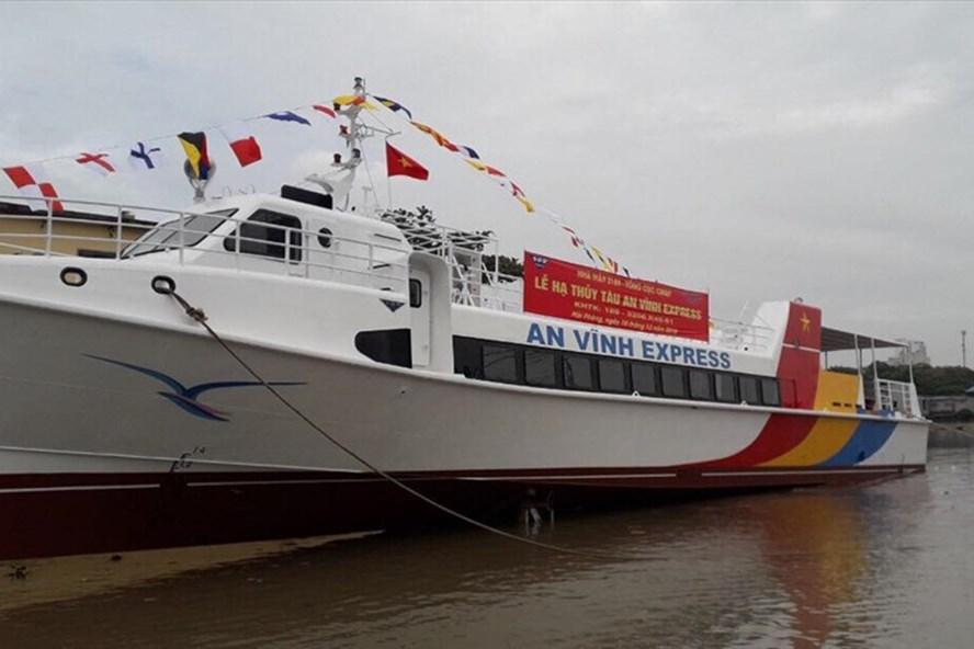 Tàu cao tốc an Vĩnh Express, công nghệ mỹ hơn 24 tỷ đồng