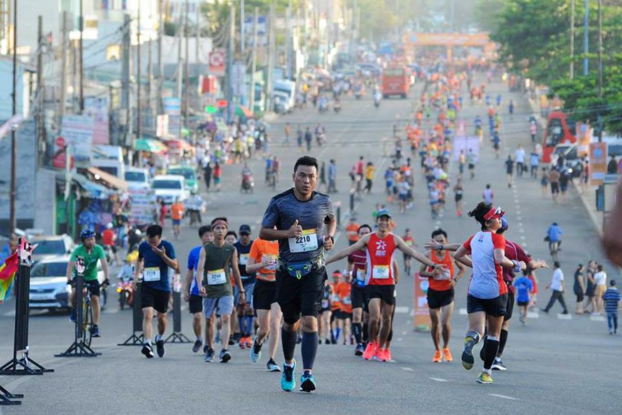 giai viet da toan quoc tien phong marathon 2020 to chuc o dao ly son 1