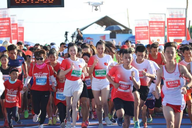 hoa hau tieu vy marathon 2020 1