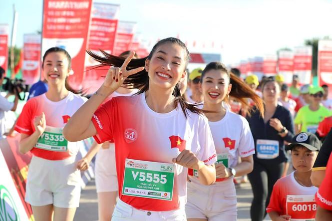 hoa hau tieu vy marathon 2020 2