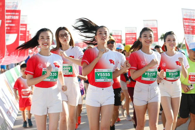 hoa hau tieu vy marathon 2020 3