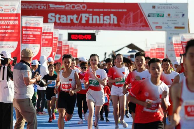 hoa hau tieu vy marathon 2020 4