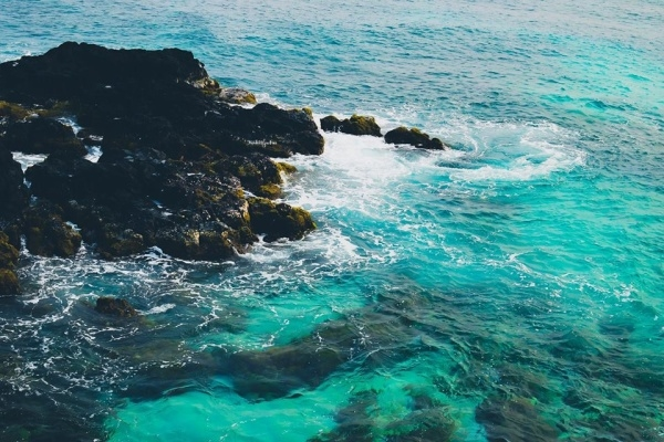 Đảo bé Lý Sơn còn giữ được vẻ đẹp nguyên sơ kỳ vĩ.