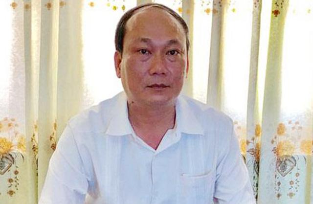 Bí thư, Chủ tịch UBND huyện Lý Sơn Nguyễn Quốc Việt.
