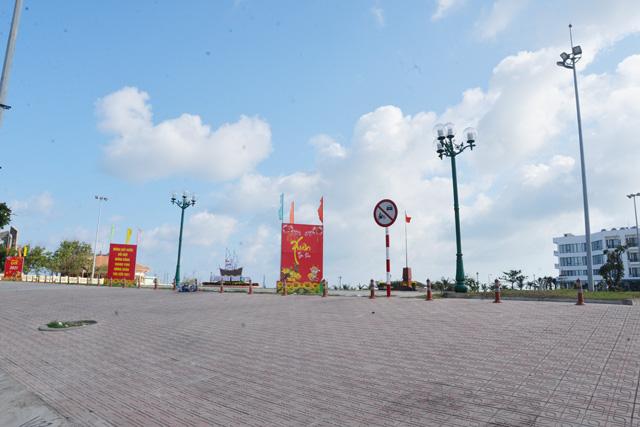 Công trình Quảng trường Trung tâm huyện Lý Sơn