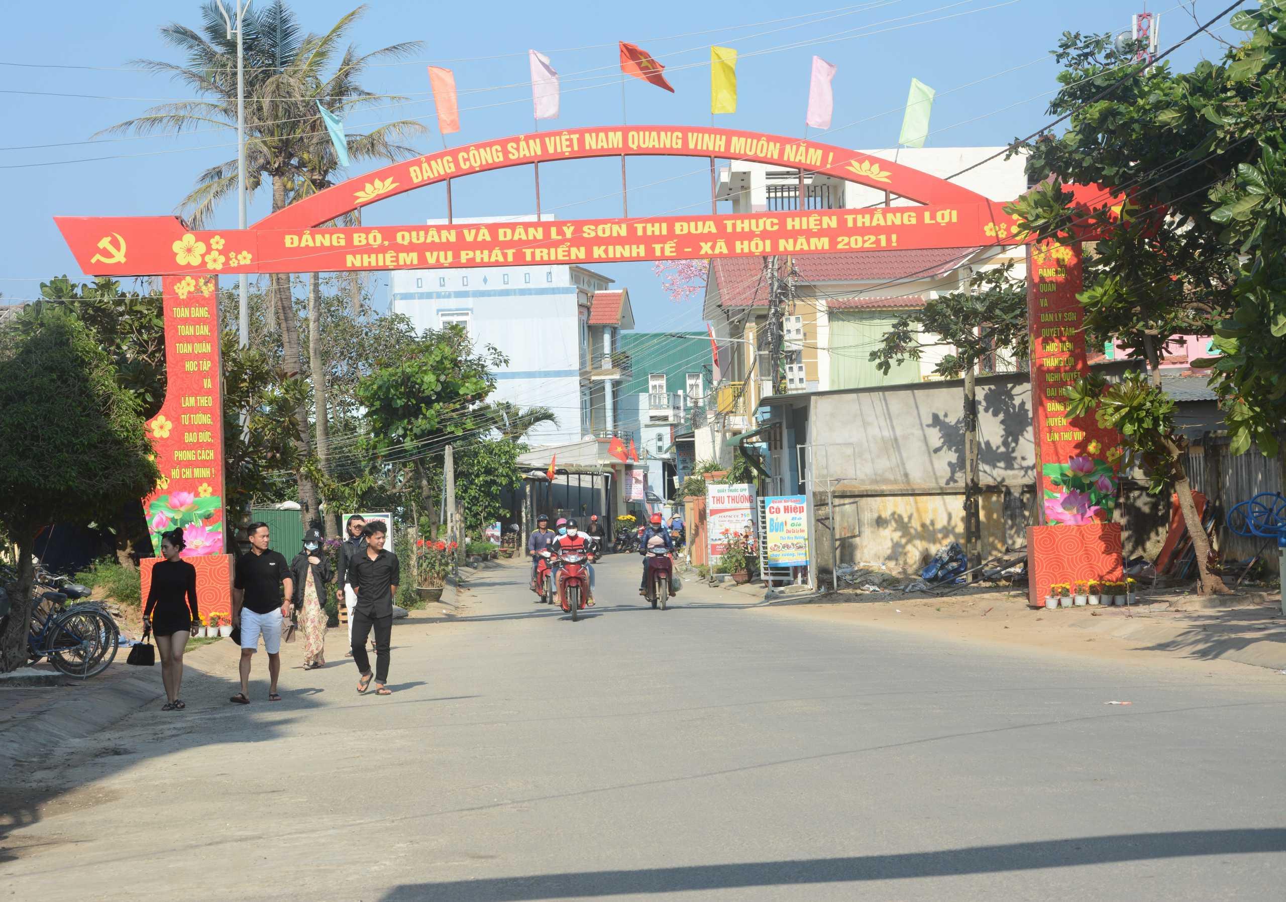 Huyện đảo Lý Sơn hôm nay