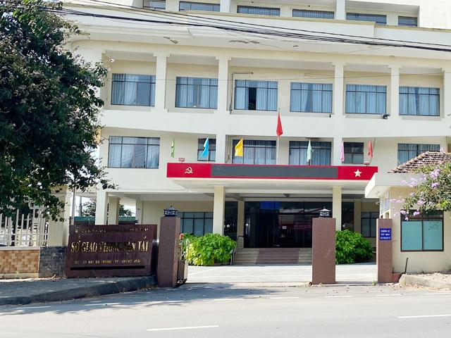 Sở GTVT tỉnh Quảng Ngãi, đơn vị tham mưu và đề xuất cấp thẩm quyền tỉnh từ chối đề nghị cho phép mở tuyến Đà Nẵng-Lý Sơn.