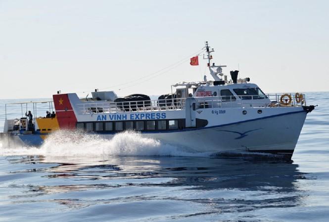 Sở GTVT tỉnh Quảng Ngãi đề nghị UBND tỉnh có ý kiến không thống nhất mở tuyến vận tải thủy liên tỉnh từ Đà Nẵng đến huyện Lý Sơn.