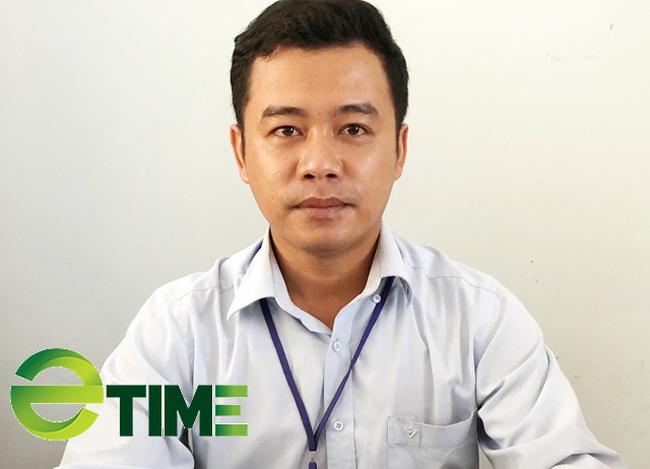 Ông Đoàn Khắc Anh Duyệt, Trưởng phòng Khai thác dịch vụ hành khách, BQL cảng Sa Kỳ.