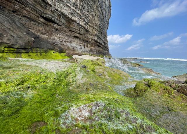 Một góc thắng cảnh Hang Câu Lý Sơn, nằm trong CVĐC toàn cầu.