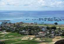 Khu vực dự kiến xây dựng sân bay Lý Sơn thuộc xã An Hải, huyện Lý Sơn, tỉnh Quảng Ngãi.