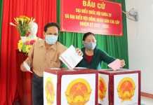 Tỷ lệ cử tri đi bầu cử ở tỉnh Quảng Ngãi đạt 99.71%
