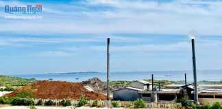 Nhà máy Xử lý chất thải sinh hoạt huyện Lý Sơn.