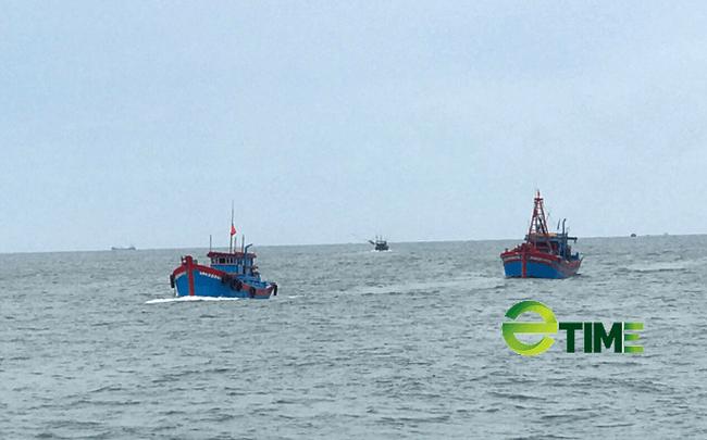 Hiện hàng trăm tàu thuyền của ngư dân Quảng Ngãi ra khơi trước ngày 15/9 đang trên đường trở về.