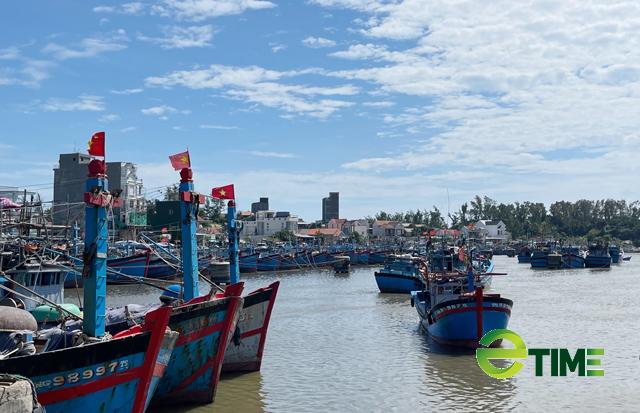 Một góc cảng Phổ Quang, phường Phổ Quang, thị xã Đức Phổ.