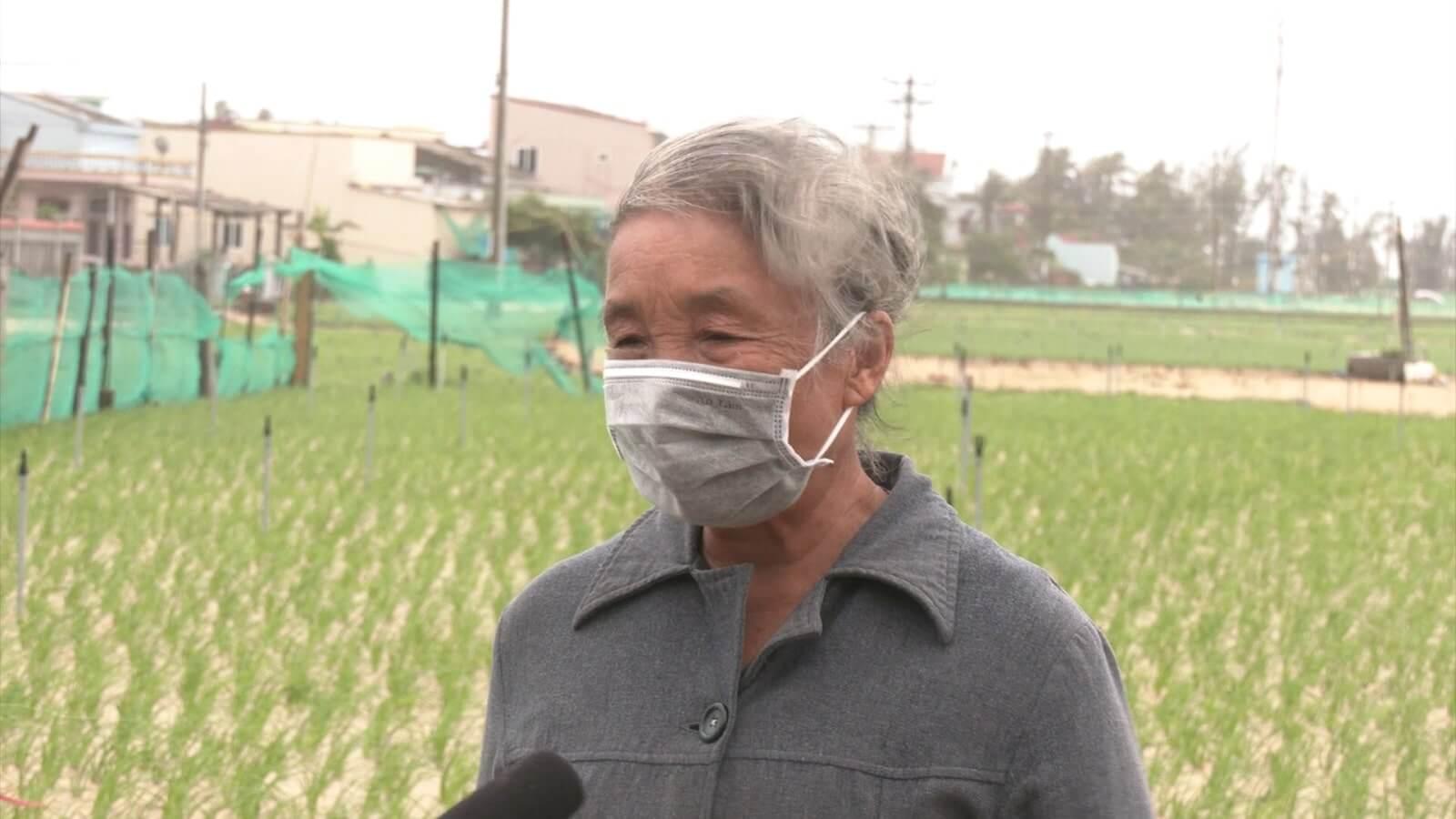 Bà Trần Thị Tính, Thông Đông An Hải, huyện Lý Sơn