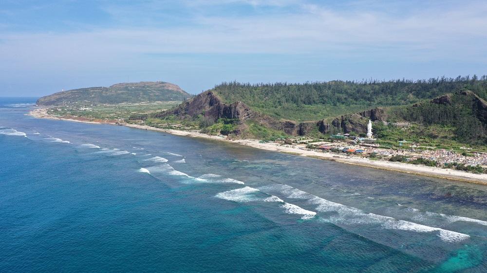 Một góc đảo Lý Sơn.