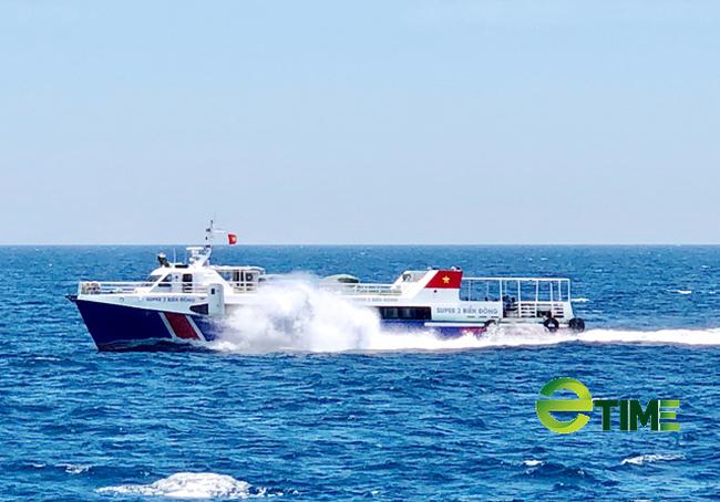 Tàu khách siêu tốc Sa Kỳ-Lý Sơn và ngược lại đã được phép hoạt động.